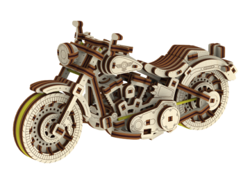 Cruiser V Twin Puzzle 3d 1