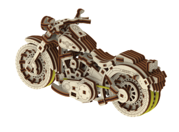Cruiser V Twin Puzzle 3d 2