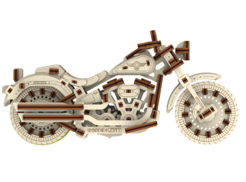 Cruiser V Twin Puzzle 3d 4