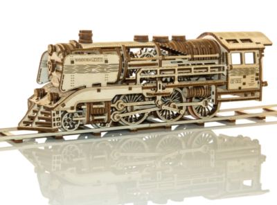 Pociąg Wooden Express Model + Tory Kolejowe